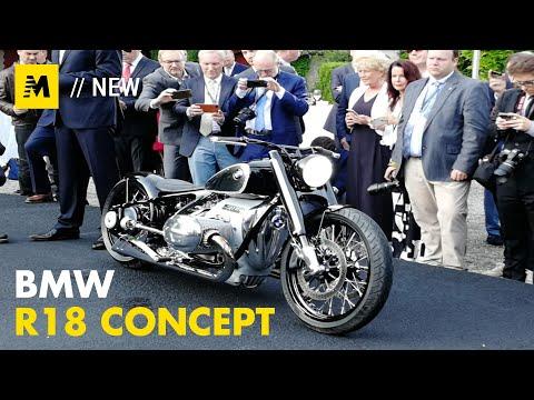 Bmw R18 Concept Anteprima A Villa D Este 2019 English Sub Youtube