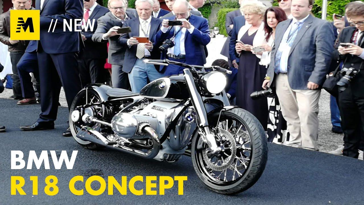 dd8ef723b27 BMW R18 Concept: ANTEPRIMA a Villa d'Este 2019 [English Sub.] - YouTube
