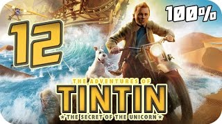 The Adventures of Tintin: The Game Walkthrough Part 12 (PS3, X360, Wii) 100% Chap. 29 to 32 (Ending)