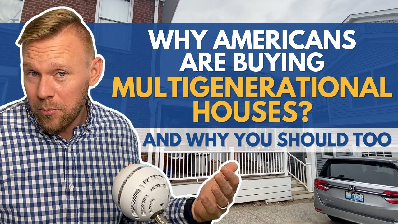 Multigenerational Homes On the Rise - Why Families are Looking for Houses with Mother In Law Suites