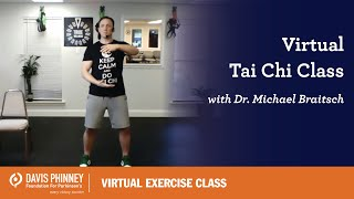 Virtual Tai Chi Class wth Dr. Mike Braitsch