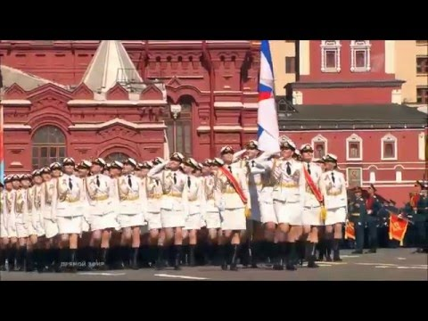 Victory Day Parade in Moscow 2016 (Red Alert 3 - Soviet March 2) HD | Парад Победы 2016 В Москве