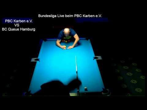 PBC Karben.e.V. VS BC Queue Hamburg, Gries vs Ortmann 10 Ball