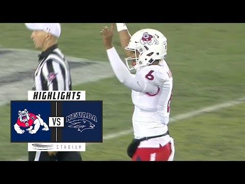 Fresno State vs. Nevada Football Highlights (2018) | Stadium