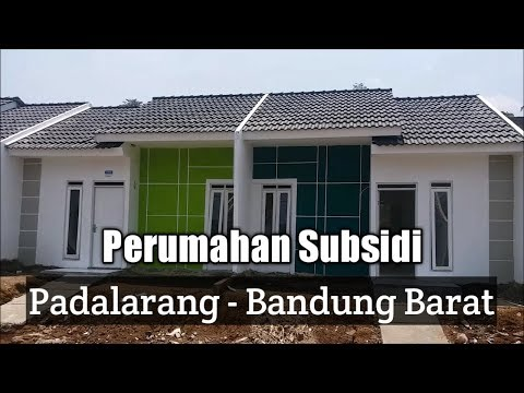 Perumahan Subsidi Di Kabupaten Bandung Barat Youtube