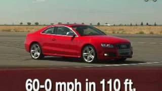 The face of new audi coupe comes from midengine r8 sports car, and rest has been inspired by 2003 nuvolari showcar. s5 version th...