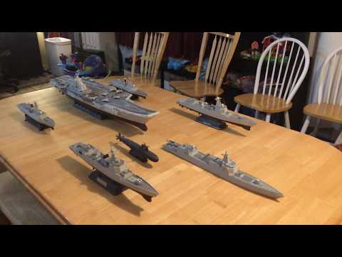 Chinese Carrier Strike Group in 1-350 scale