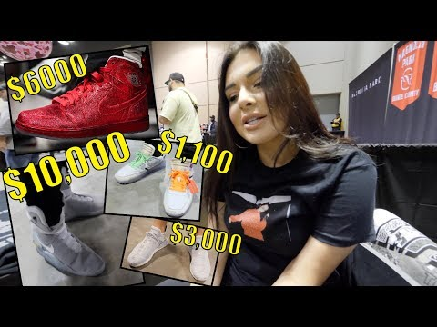 HOW MUCH ARE YOUR SNEAKERS?? (MOST EXPENSIVE SNEAKERCON!)