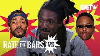 YG And Nipsey Hussle Face Off In A Close Call By Mozzy | #RateTheBarsVS