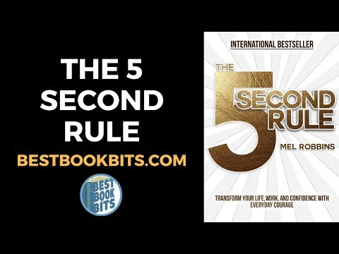 The 5 Second Rule   Mel Robbins   Book Summary   Bestbookbits.com