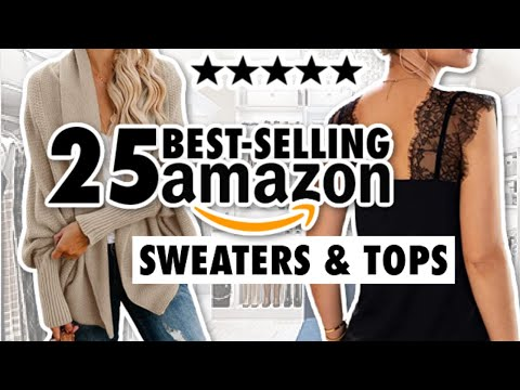 25 BEST Amazon Sweaters & Tops: THE ULTIMATE GUIDE!