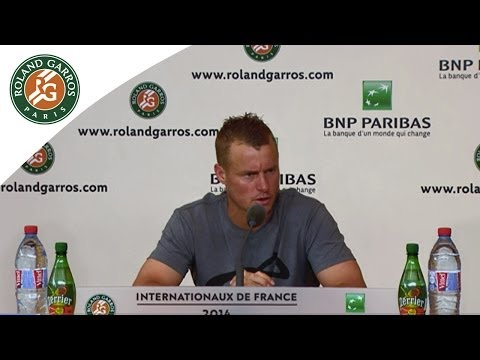 Press conference Lleyton Hewitt 2014 French Open R1