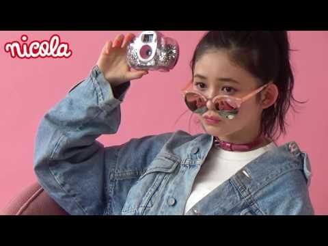 ニコラ4月号「Pink! Pink! Rinka!」 久間田琳加