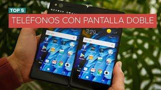 ¿Dos es mejor que uno?: Estos teléfonos tienen pantalla doble