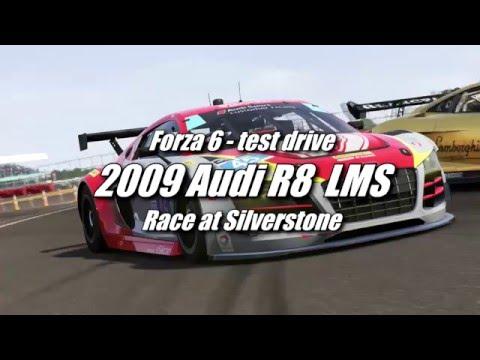 Audi R8 LMS  race at Silverstone [Forza 6+Logitech G920 wheel]