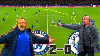 Гвардиола проиграл Сарри! Челси против Манчестер Сити. Тактический разбор матча.