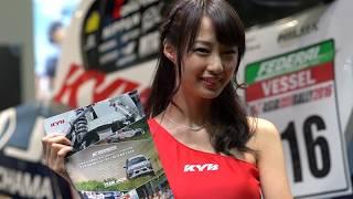 東京オートサロン2017 in 幕張メッセ 【KYB】ブース.