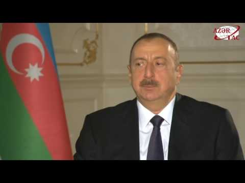 President Ilham Aliyev was interviewed by Al Jazeera TV correspondent