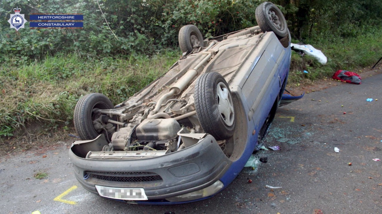 Drink Driver Car Crash
