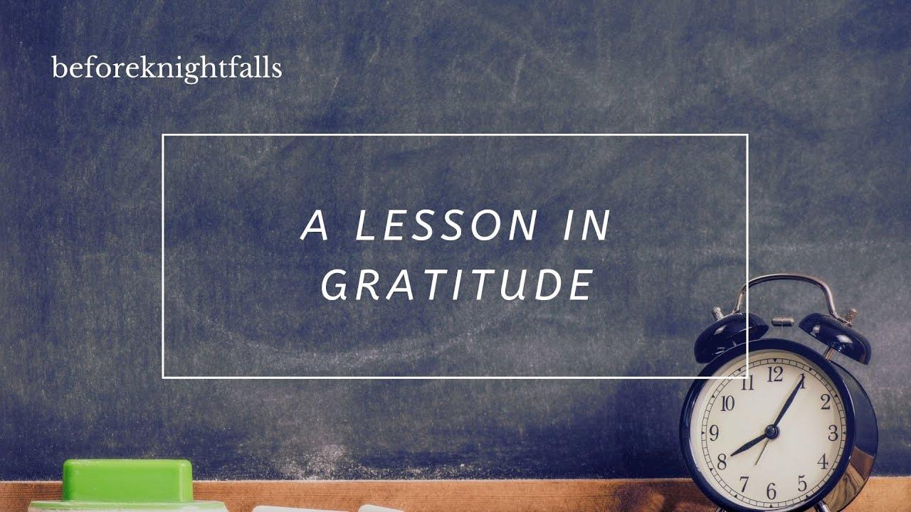 ASMR Boyfriend: A Lesson In Gratitude