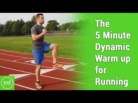 The 5 Minute Dynamic Warm Up for Running | Week 34 | Movement Fix Monday | Dr. Ryan DeBell