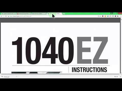2016 Form 1040EZ