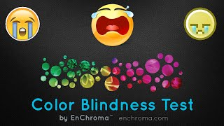 EnChroma ColorBlind Test  I Just See Circles