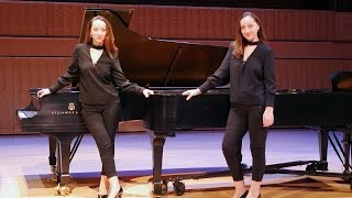 Maarder - Sonata for Two Pianos. Ani & Nia Sulkhanishvili.