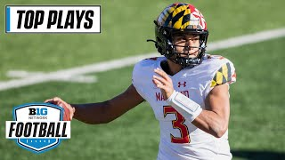 50 Of Maryland's Top Passing Plays Of The 2020 Season   Big Ten Football