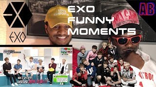 EXO Funny Moments (English Subtitles) - Americans React To Kpop 🔥🔥