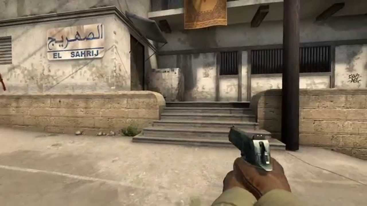 how to set left handed cs go