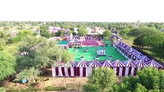 KAYAMKHANI MARRIAGE PARTY HOW USE #DJI #PHANTOM4 #Dron Shoot @ BERI CHOTI CHODHARY TENT DIDWANA