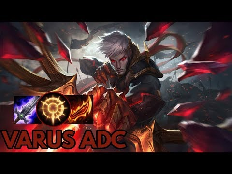 Conqueror Varus ADC- League of Legends Full Gameplay