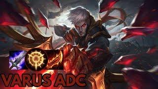 Conqueror Varus ADC- League of Legends Full Gameplay