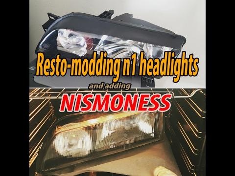 R32 GTR Skyline N1 headlight resto mod