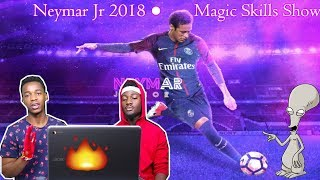 Neymar Jr 2018 ● Magic Skills Show | Crazy Reaction |