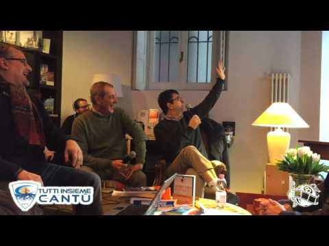 """FLAVIO TRANQUILLO RACCONTA: """"INNAMORARSI DEL BASKET A CANTÙ"""""""