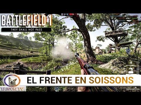 SOISSONS EN EL MODO EL FRENTE CON EL RSC 1917 - GAMEPLAY EXCLUSIVO