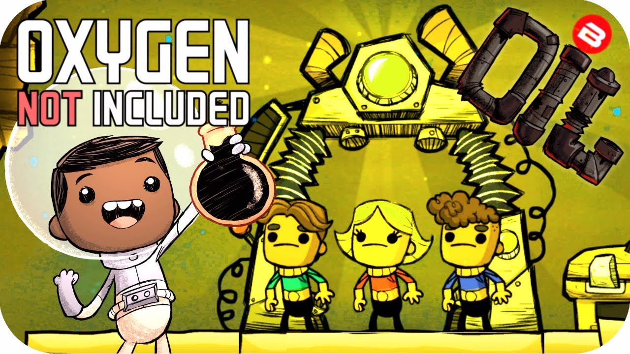 Oxygen Not Included OIL UPGRADE: BEST MAP SEED EVER??? SEASON 02 EP 01 ONI
