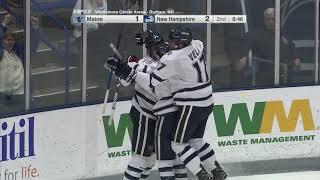 UNH Men's Hockey vs Maine Highlights (2-14-18)