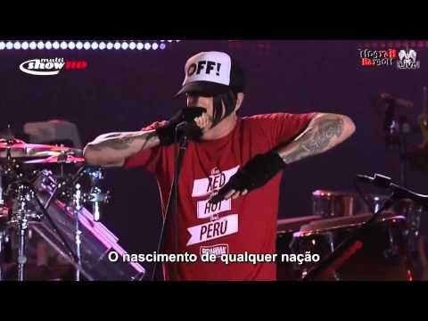 Red Hot Chili Peppers  Cant Stop Rock in Rio 2011HDLegendado PT BR¢rMogyab