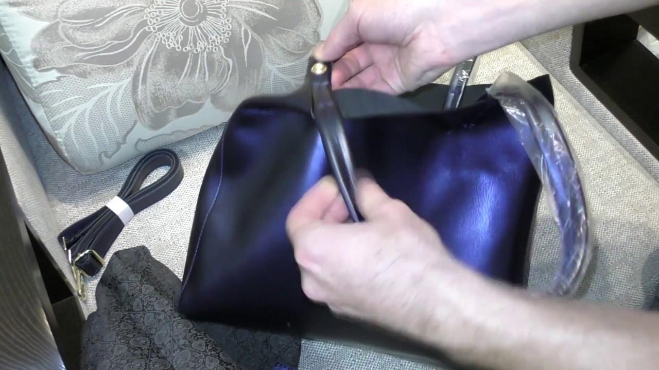Женский кожаный рюкзак Katerina Fox 30-4873 - YouTube