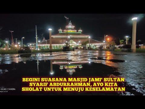 begini-suasana-masjid-jami'-sultan-syarif-abdurrahman,-ayo-kita-sholat-untuk-menuju-keselamatan