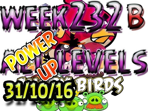 Angry Birds Friends Cryo Pranks Tournament All Levels 232-B POWER-UP walkthrough
