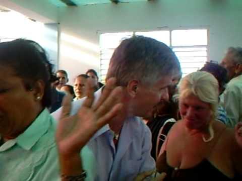 "Anointing with oil, Holy Spirit Breakout at Pentecostal Church ""Monte de Salvación"" Cuba"