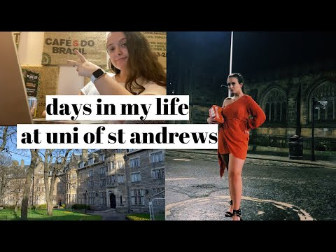 VLOG: Days In My Life At Uni Of St Andrews: Strikes, Fashion Show, Mental Health