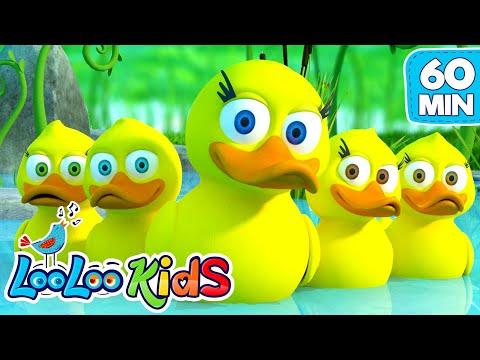 Five Little Ducks - Amazing Songs With Animals   LooLoo Kids