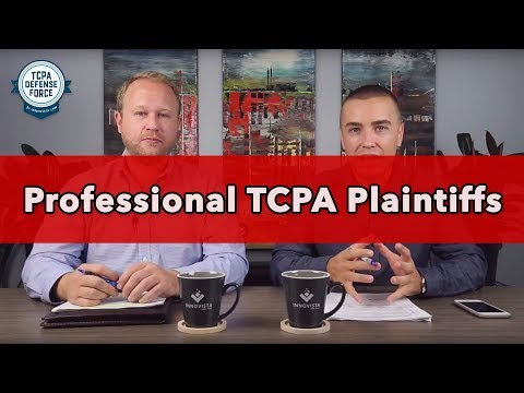 Text Message Marketing Lawsuits - Professional TCPA Plaintiffs