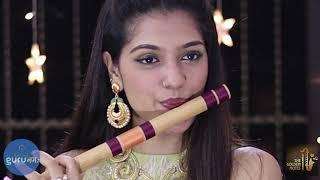 Achutam Keshavam I अच्युतम केशवम Flute | Sachin Jain | Palak Jain | Guru Namah | @The Golden Notes