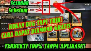 BUKTI NYATA!!! Cara Dapat Diamond Free Fire Gratis Tanpa Aplikasi Pulsa